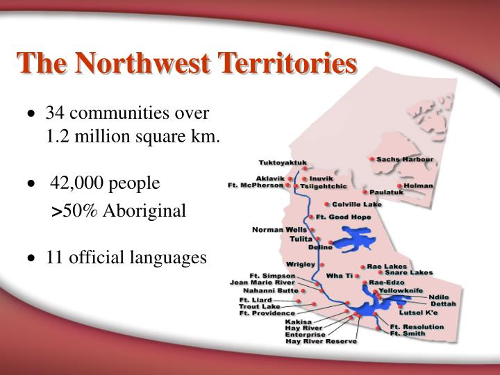 The northwest territories