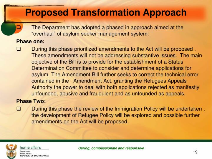 Proposed Transformation Approach