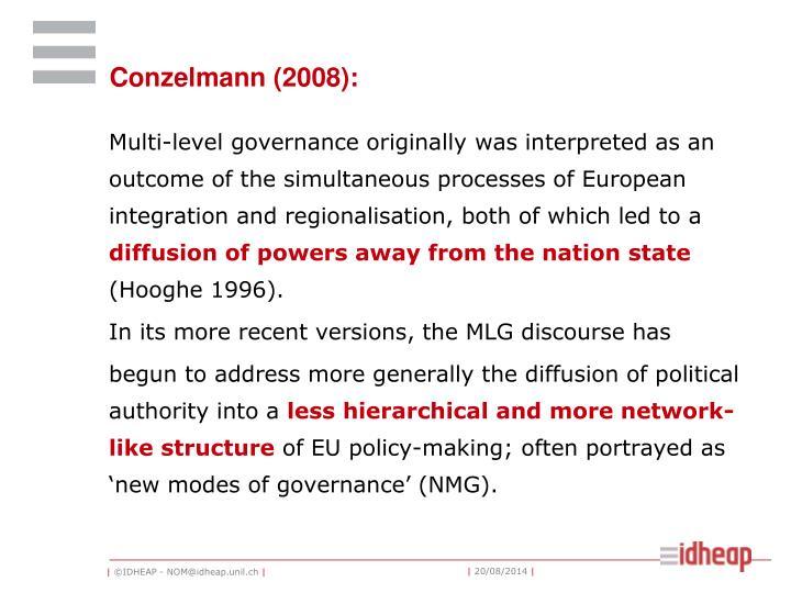 Conzelmann (2008):