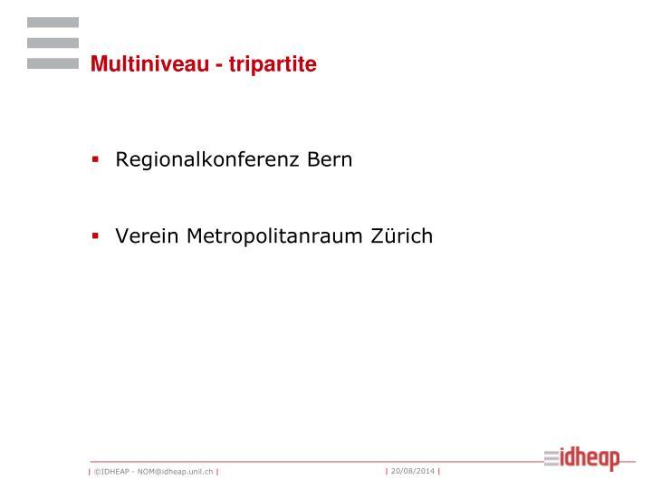 Multiniveau - tripartite
