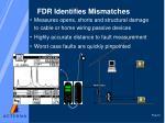 fdr identifies mismatches