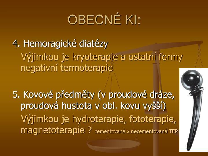 OBECNÉ KI: