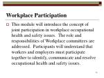 workplace participation