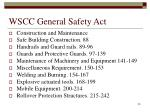 wscc general safety act1