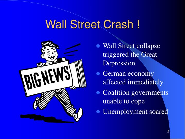 Wall Street Crash !