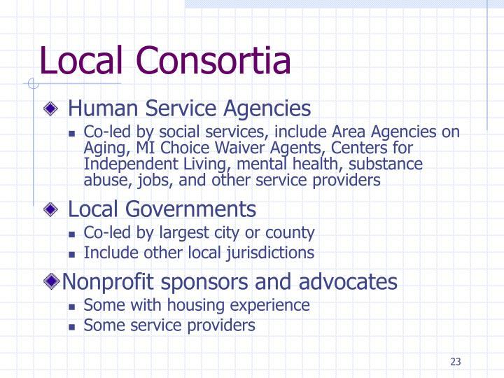 Local Consortia