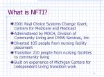what is nfti