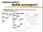 implementation mysql prototype 1