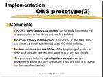 implementation oks prototype 2