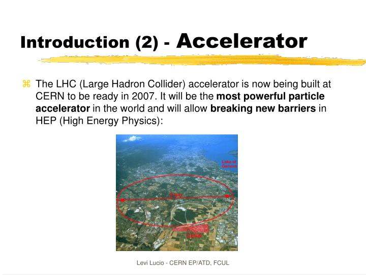 Introduction (2) -