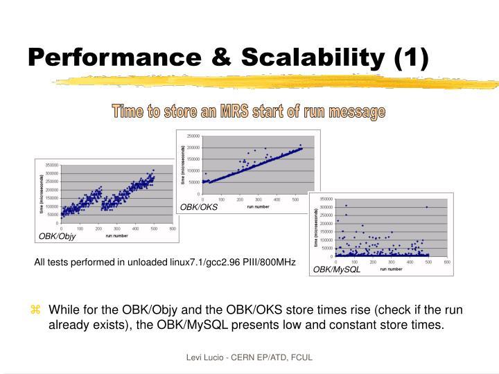 Performance & Scalability (1)