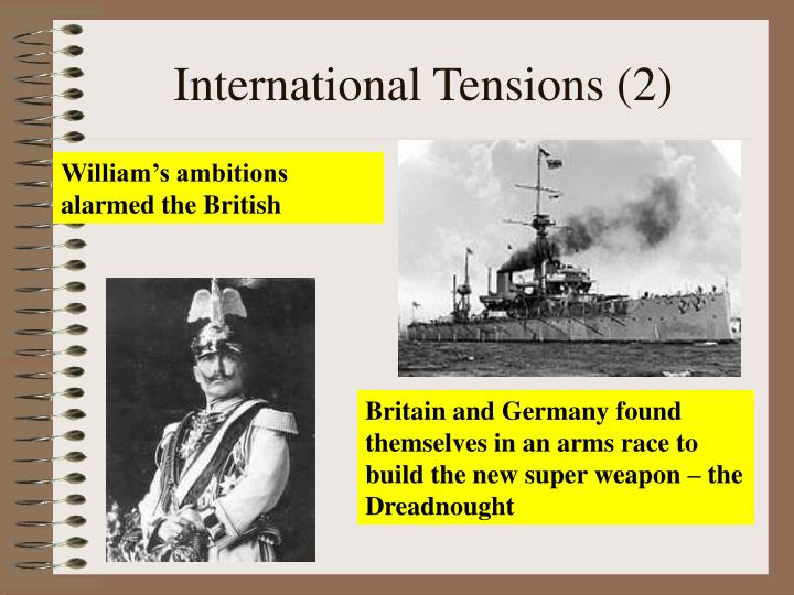 International Tensions (2)