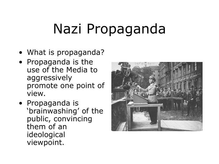 Nazi Propaganda