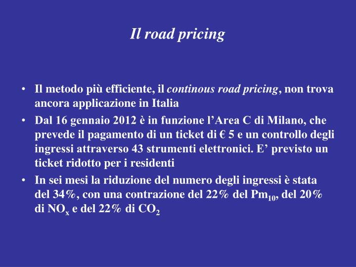 Il road pricing