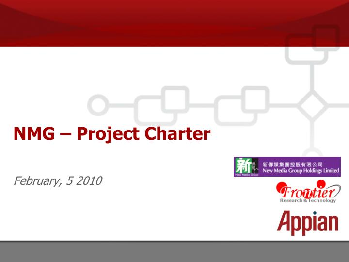 Nmg project charter