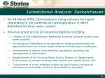 jurisdictional analysis saskatchewan1