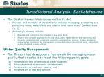 jurisdictional analysis saskatchewan2
