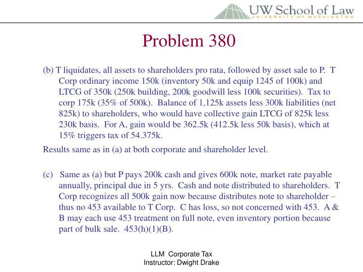 Problem 380
