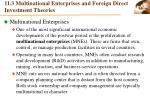 11 3 multinational enterprises and foreign direct investment theories