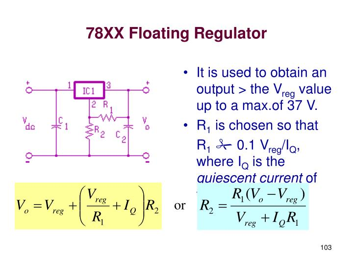 78XX Floating Regulator