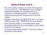 general notes cont d