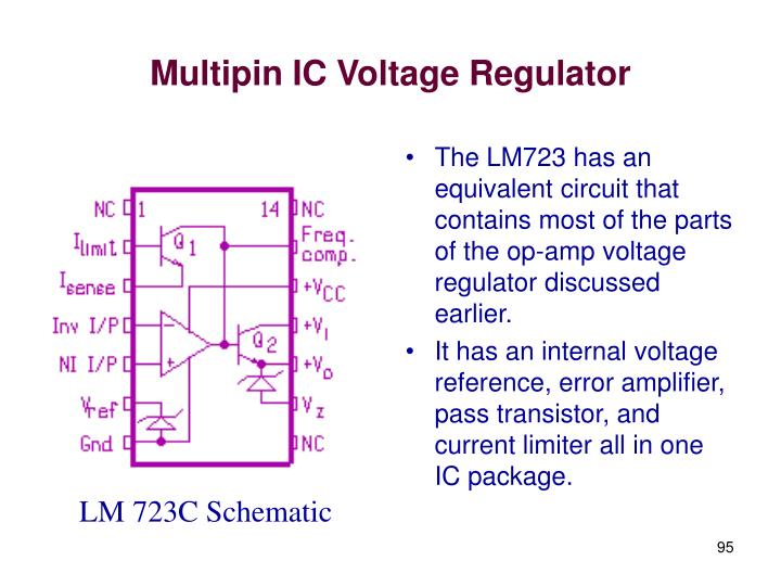 Multipin IC Voltage Regulator