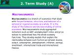 2 term study a3