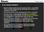 is it a brain misfire