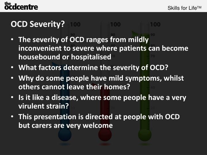 Ocd severity