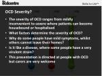 ocd severity