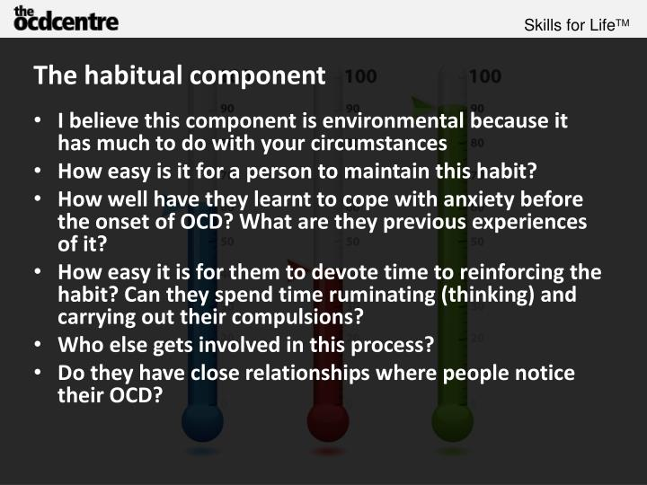 The habitual component