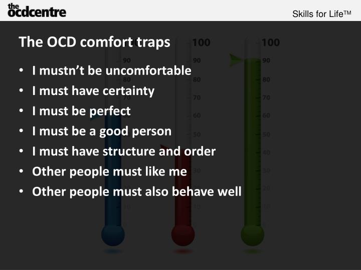 The OCD comfort traps