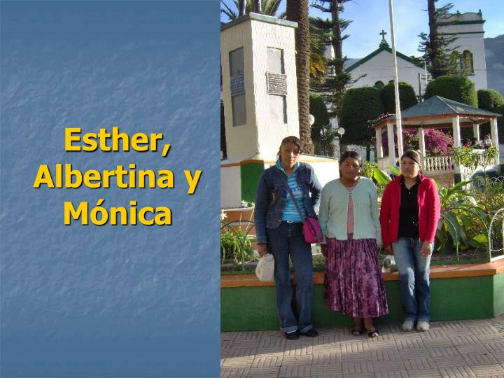 Esther,