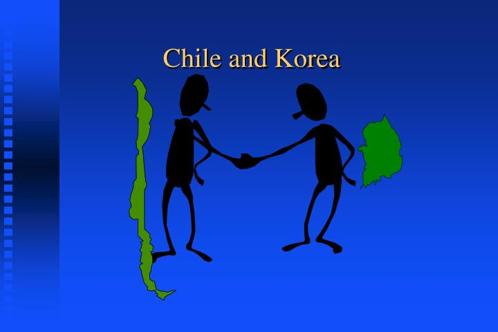 chile and korea
