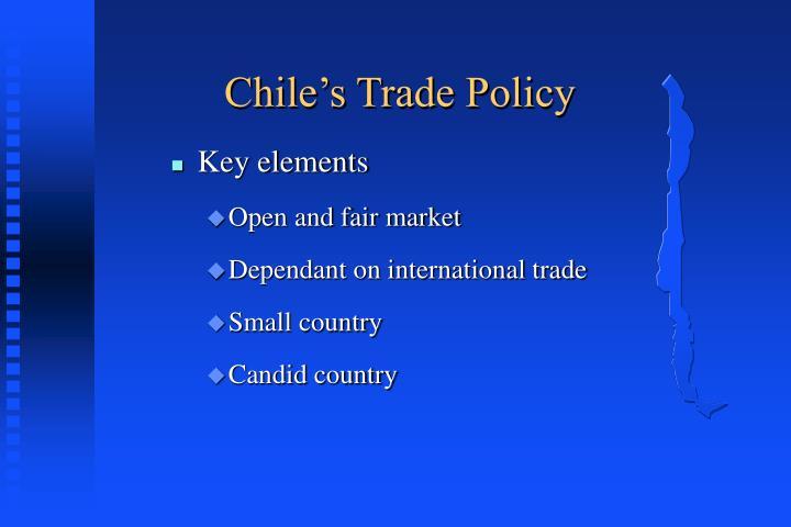 Chile's Trade Policy