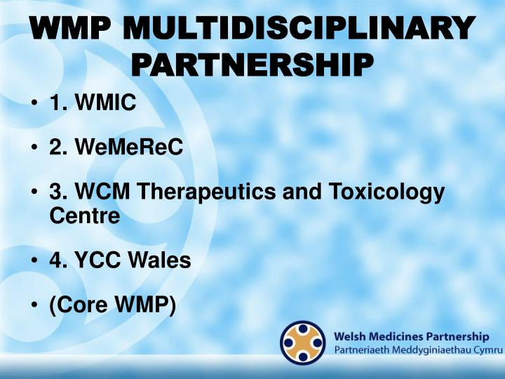 Wmp multidisciplinary partnership