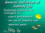 general definition of subsidy 61