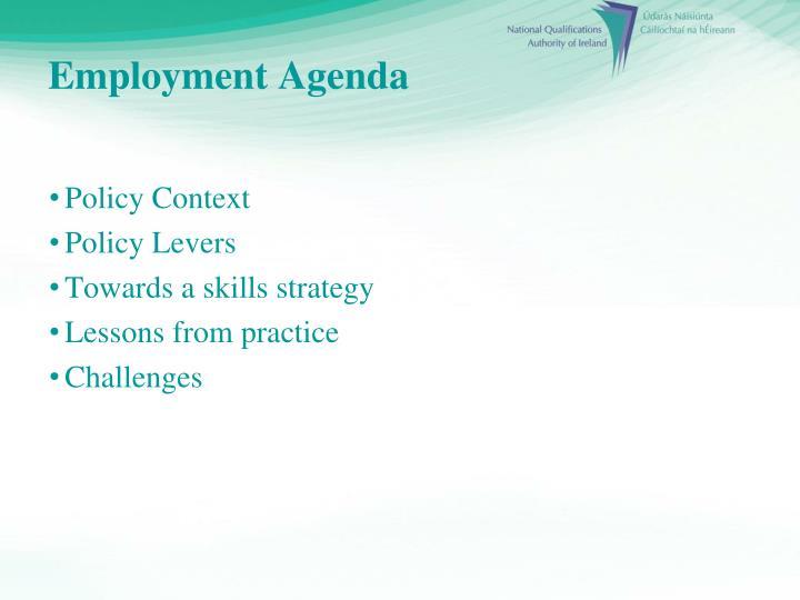 Employment Agenda