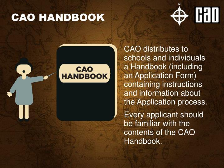 CAO HANDBOOK