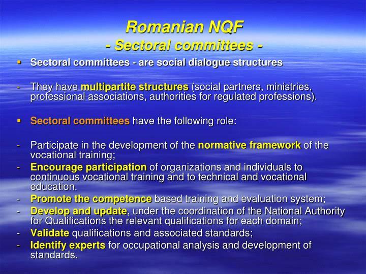 Romanian NQF