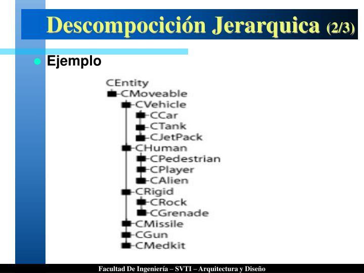 Descompocición Jerarquica