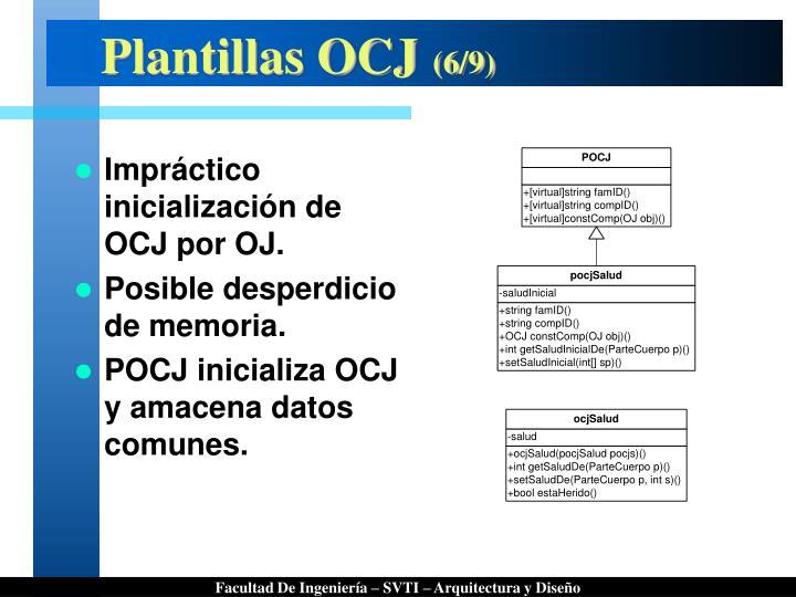 Plantillas OCJ