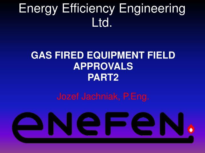 Energy Efficiency Engineering Ltd.
