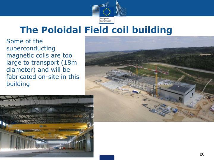 The Poloidal Field coil building