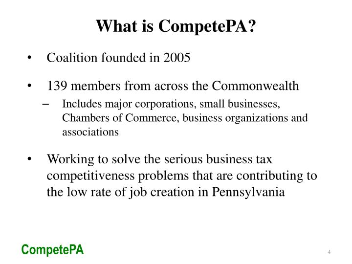 What is CompetePA?