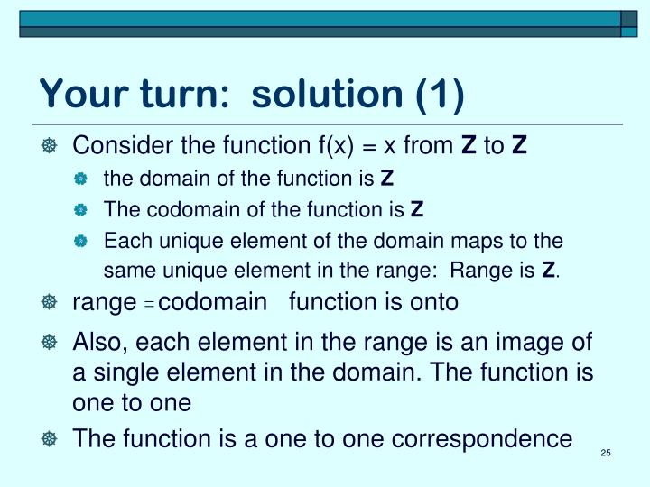Your turn:  solution (1)