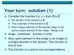 your turn solution 1