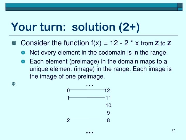 Your turn:  solution (2+)