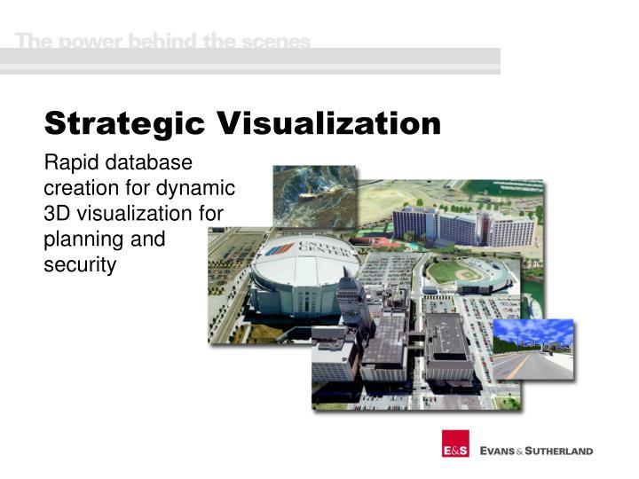 Strategic Visualization