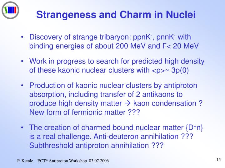 Strangeness and Charm in Nuclei